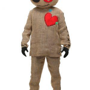 Adult Burlap Voodoo Doll Costume