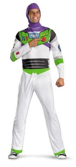Adult Buzz Lightyear Costume - Classic