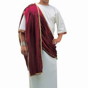 Adult Caesar the Great Costume - Wine Drape