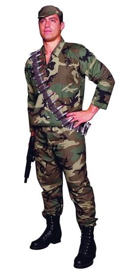 Adult Camouflage G.I. Costume