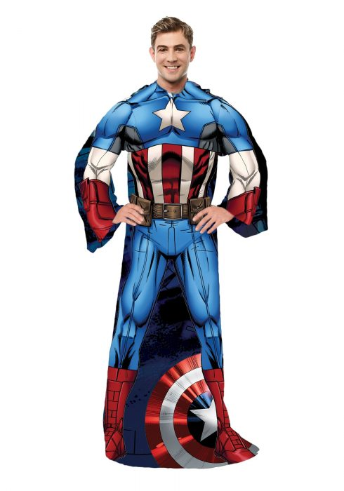 Adult Captain America Comfy Throw