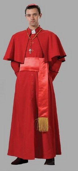 Adult Cardinal Costume ? Red