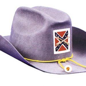 Adult Civil War Confederate Officer Hat