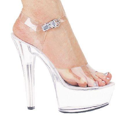 Adult Clear Platform Shoes