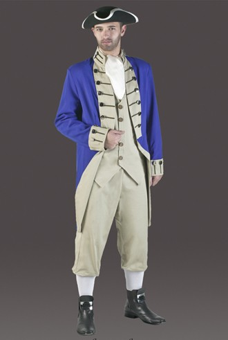 Adult Colonial Soldier Costume