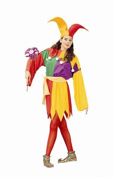 Adult Court Jester Costume