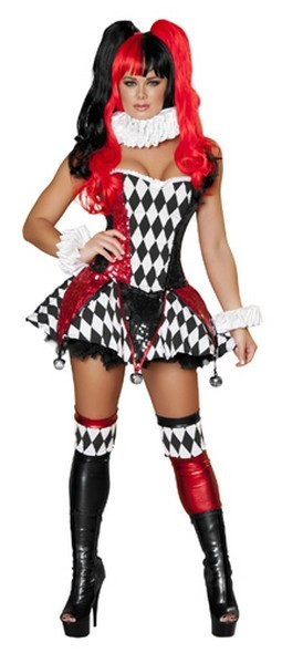 Adult Court Jester Cutie Costume
