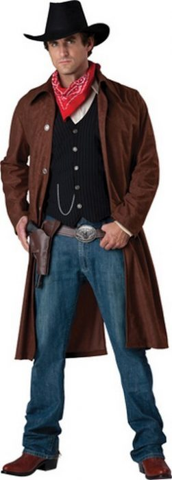 Adult Cowboy Costume - Gritty Gunslinger