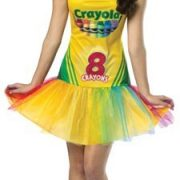 Adult Crayola Crayon Box Tutu Dress