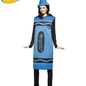 Adult Crayola Crayon Costume - Blue