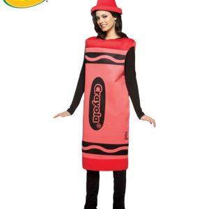 Adult Crayola Crayon Costume - Red