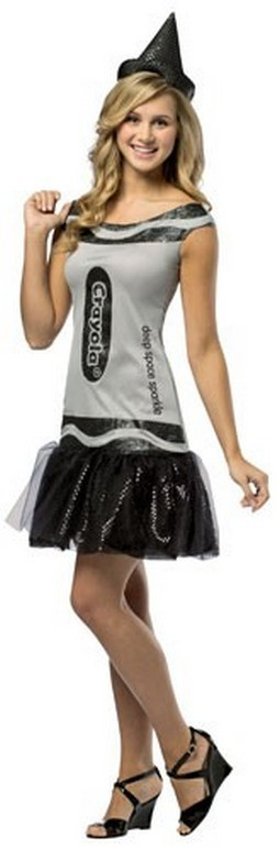 Adult Crayola Dress - Black
