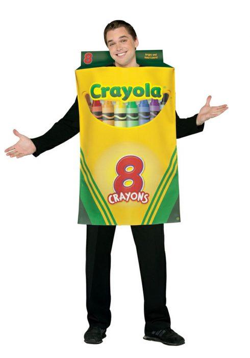 Adult Crayon Box Costume