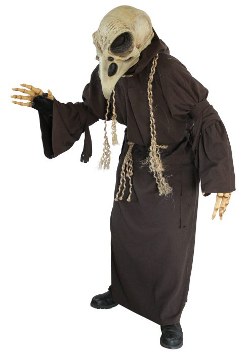 Adult Crow Skull Costume