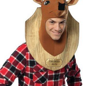 Adult Deer Trophy Head Costume