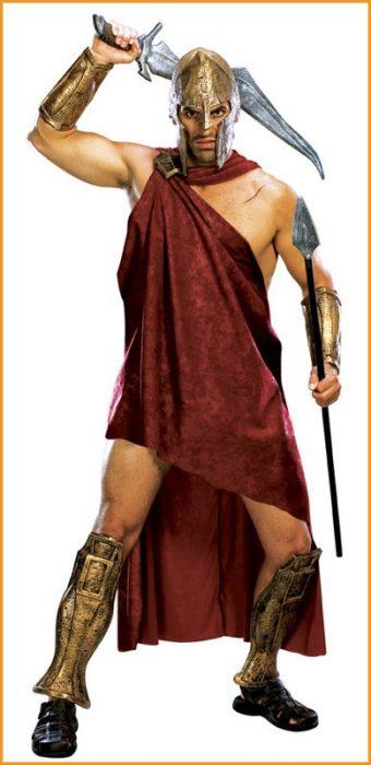 Adult Deluxe 300 Spartan Costume