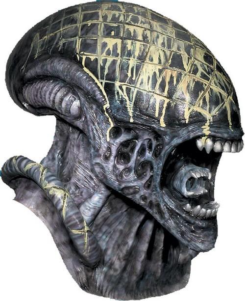Adult Deluxe Alien Mask