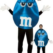 Adult Deluxe Blue M&M'S Character Costume