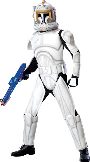 Adult Deluxe Clonetrooper Cody Costume