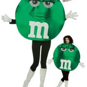 Adult Deluxe Green M&M'S Character Costume