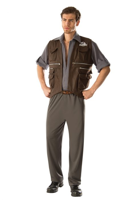 Adult Deluxe Jurassic World Owen Costume
