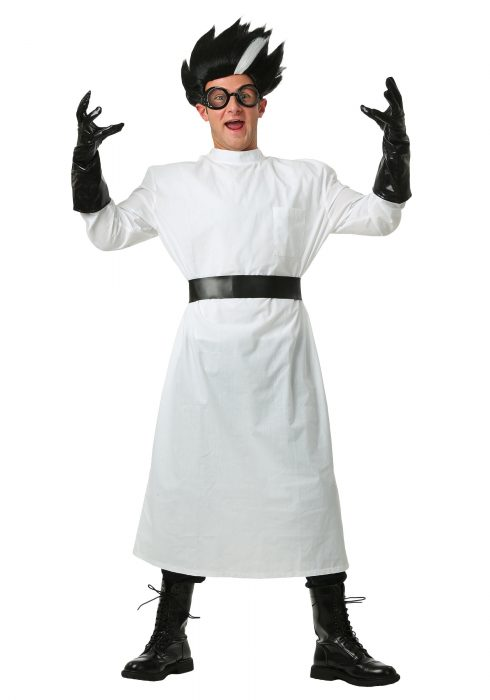 Adult Deluxe Mad Scientist Costume