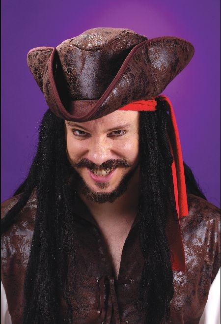 Adult Deluxe Pirate Tricorn Hat