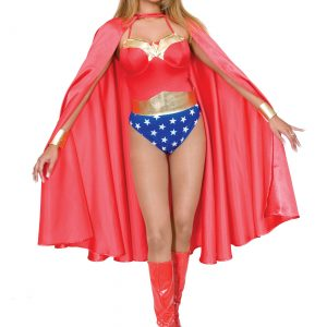 Adult Deluxe Red Superhero Cape