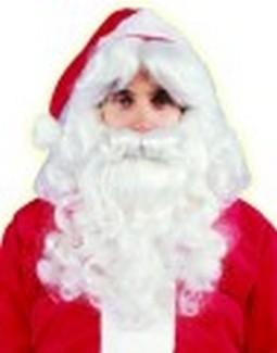 Adult Deluxe Santa Beard & Wig Set