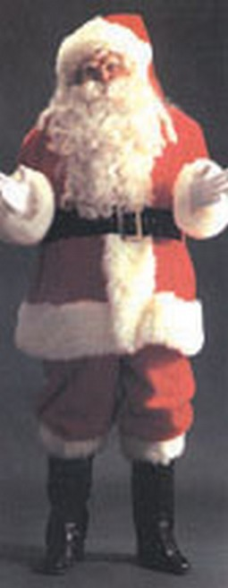 Adult Deluxe Santa Suit Costume