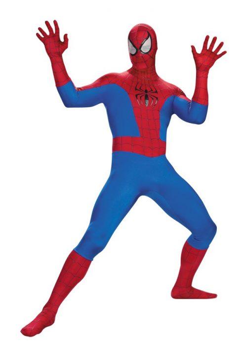Adult Deluxe Spiderman Costume