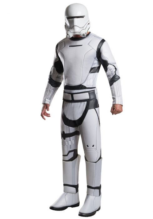 Adult Deluxe Star Wars Force Awakens Flametrooper Costume
