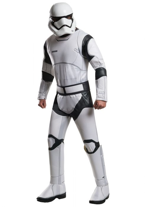 Adult Deluxe Star Wars Force Awakens Stormtrooper Costume