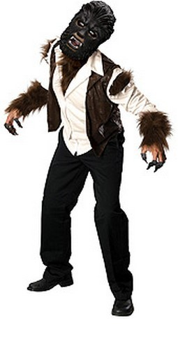 Adult Deluxe The Wolfman Costume