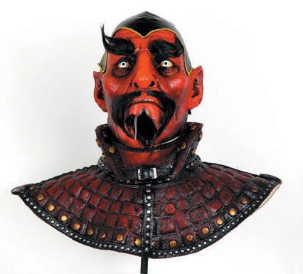 Adult Deluxe Warlock Mask