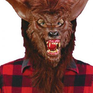 Adult Deluxe Werewolf Costume Mask