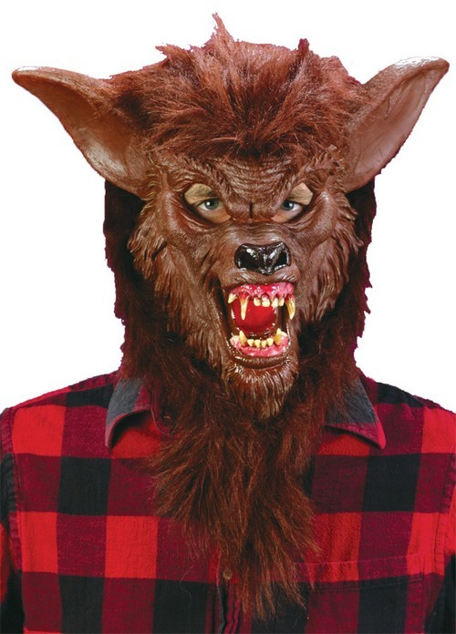 Adult Deluxe Werewolf Costume Mask