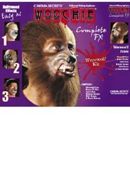 Adult Deluxe Werewolf Makeup Kit