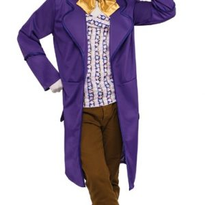 Adult Deluxe Willy Wonka Costume - Standard