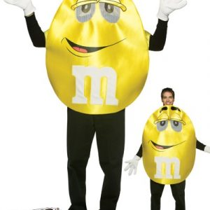Adult Deluxe Yellow M&M'S Character Costume