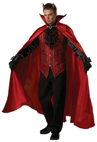 Adult Devil Costume - Handsome Devil
