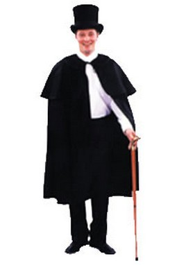 Adult Dickens Costume Cape