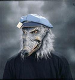 Adult Dirty Rat Mask
