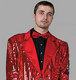 Adult Disco Jacket ? Red