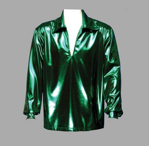 Adult Disco Shirt ? Green