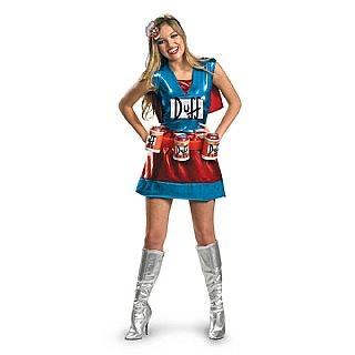 Adult Duffwoman Costume