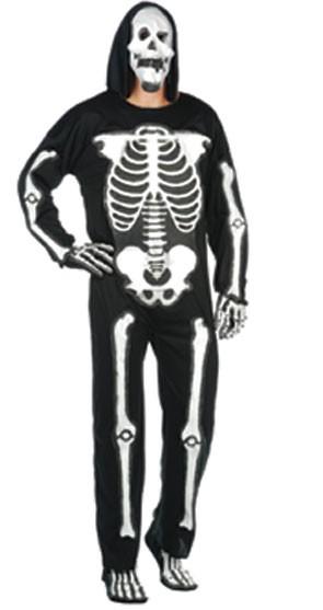 Adult EVA Skeleton Jumpsuit