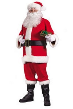 Adult Economy Santa Costume