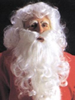 Adult Economy Santa Suit Wig and Beard