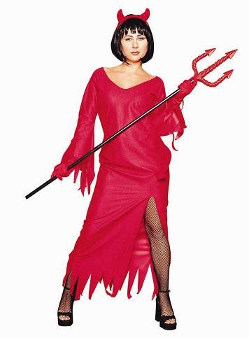 Adult Elegant Devil Costume